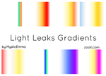 Light Leaks Gradients by MysticEmma