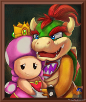 King and queen by HG-The-Hamster