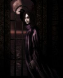 The crow by Ymadea