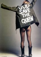 God Save the Queen by DaliUrbanArt