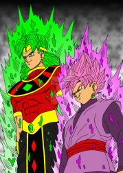 [WhatIf?] Black Goku return with God Broly OAV by Cheetah-King