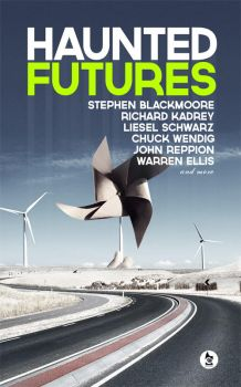 Temporary cover for Haunted Futures by gaborcsigas
