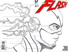 Flash Sketch Cover by mentaldiversions