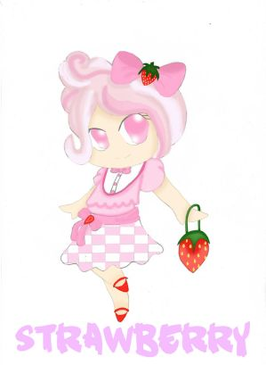Strawberry Girl by Lovepiko