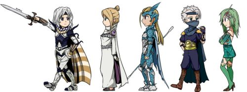 Final Fantasy IV After Years - Cecil's Party by Ahrrhd