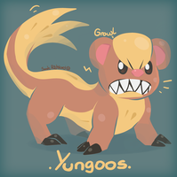 Yungoos, the Trump Pokemon by SarahRichford