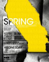 springShow Poster idea 1 by kenji2030