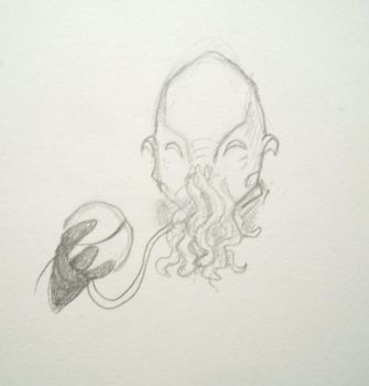 Ood Doodle by Rookly
