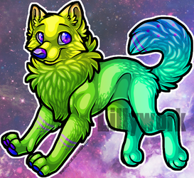 OTA Wolf Adoptable [OPEN] by Lillywork