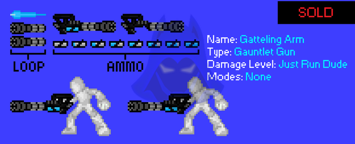[Auction Showcase/SOLD] Gatling Arm by TheHooddedMage