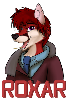 Roxar Badge - Commission by Silenthowl7