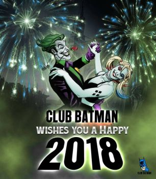 Happy 2018  by Club-Batman