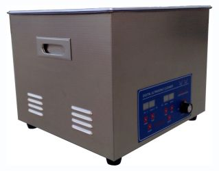 Power Adjustable Ultrasonic Cleaner 22L (2) by bjultrasonic