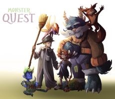 Monster quest by Stella-di-A