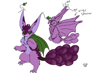 Gift/ Grape Dragoon~ by Iceamon808