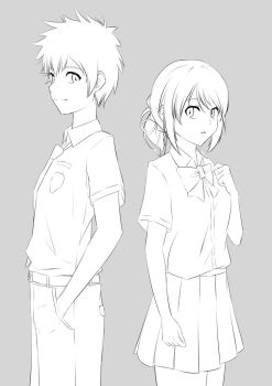 Your name WIP by Ahkhai1999