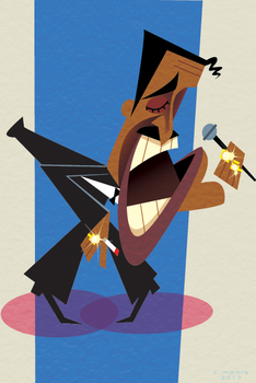 Sammy Davis Jr. by artofmoore
