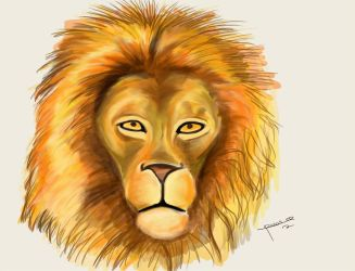 Lion Portrait by ricksd
