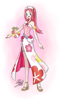 Nurse Joy of Alola Region