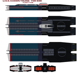 U.S.S. Cassin Young   YSB-228 by bagera3005