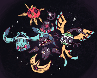 Gymleadersona- Space Dust Squad by Srarlight