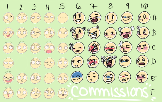 Expression Commissions/YCH - OPEN by coldioc