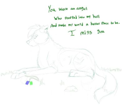 misses you by Tenebraewolf