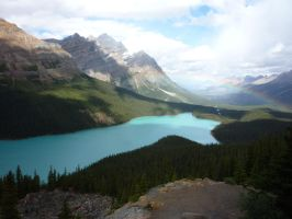 Bow Lake 6 by raindroppe