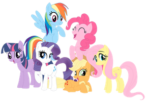 My Little Pony: Friendship is magic by Rousetta