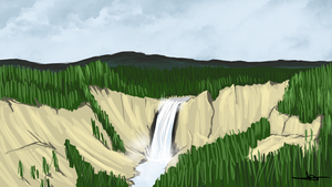 220  - Yellowstone Hills by Shasel