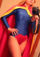 DC 52 Supergirl progress shot by AlisaKiss