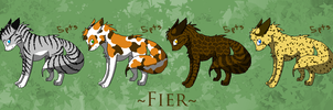 Fier - Housecat Set :5 pts: by Rythos