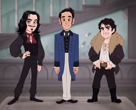 What We Do In The Shadows by LuigiL