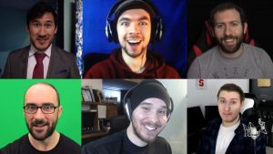 My most favourite youtubers by GothicGamerXIV
