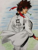 Sanosuke Sagara by Draw4fun2