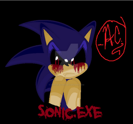 Sonic.exe (With New Font) by ArtistiaCons