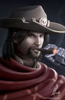 McCree by Mauricio-Morali