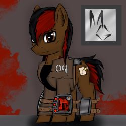 Blaze Gunner (Full Body) by MaskGamer