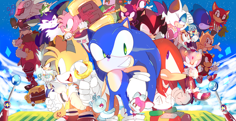 Sonic 27 by aoii91