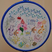 Under The Sea by VickitoriaEmbroidery