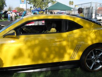 Bumble Bee like car 3 by PeacemakerUta