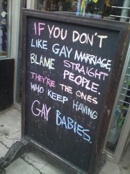 Blame Straight People by DaisySaysHi