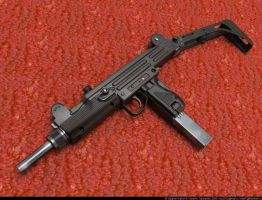 3UZI Submachine Gun by VladiT