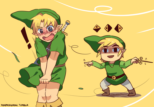 Oh Link by seiryuuden