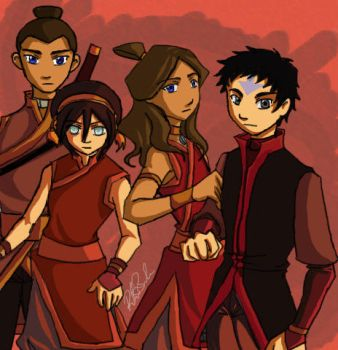 Into the Fire Nation by river-bird