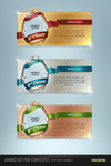Award Set for contests PSD by NishithV