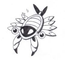 Bug Pokemon Advent Calendar - #13 Anorith