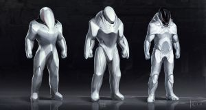 Some space suit concepts by JSA-Arts