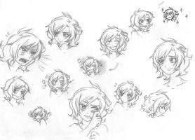 Faces exercise - APh Malta by signora-sole