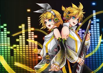 Kagamine APPEND by tatouji